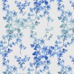 OMBRE FLORAL BLUE